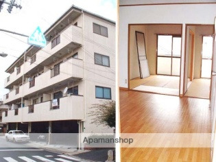 相川 徒歩20分 3階 2LDK 賃貸マンション