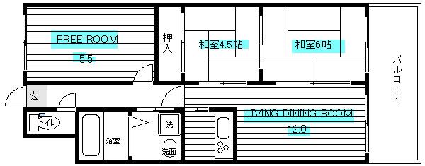 阿倍野 徒歩10分 4階 3LDK 賃貸マンション