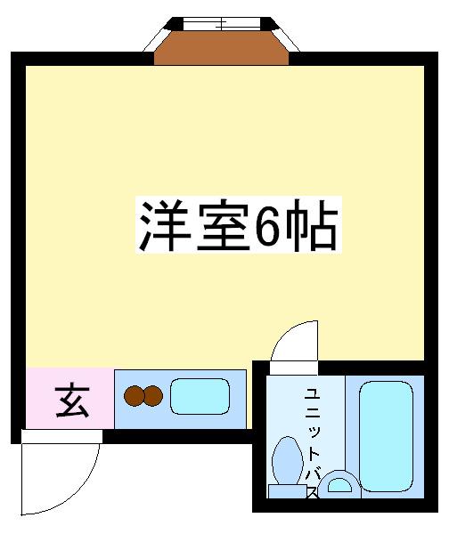 南田辺 徒歩9分 2階 1R 賃貸マンション