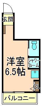 五反野 徒歩7分 2階 1R 賃貸アパート