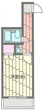 日吉 徒歩17分 2階 1K 賃貸マンション