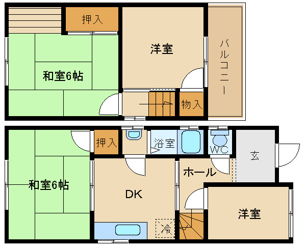 小阪合町1丁目貸家 賃貸貸家