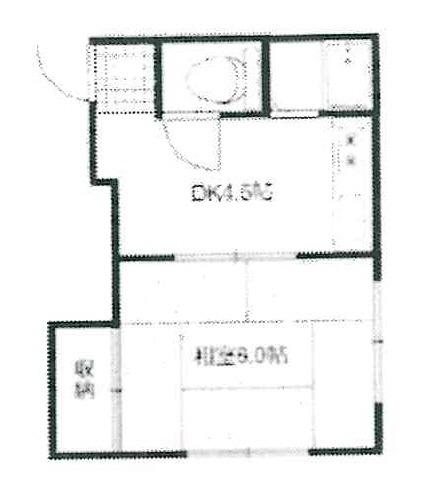 船堀 徒歩19分 2階 1DK 賃貸アパート