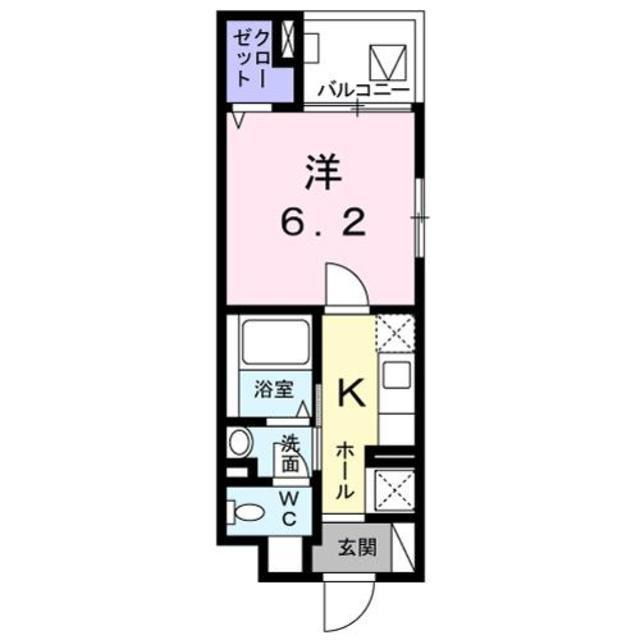 戸越 徒歩11分 3階 1K 賃貸マンション