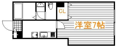 雑色 徒歩16分 1階 1K 賃貸アパート