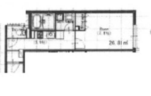 氷川台 徒歩16分 1階 1K 賃貸マンション
