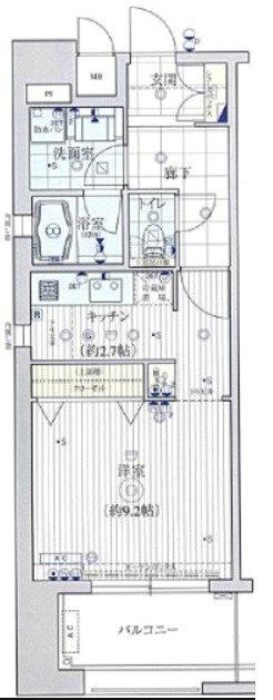 間取り/地積図KAISEI江戸堀