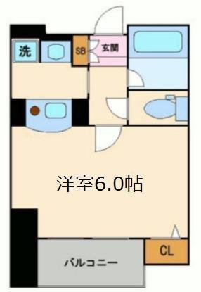 間取り/地積図エステムプラザ梅田WEST(ウエスト)