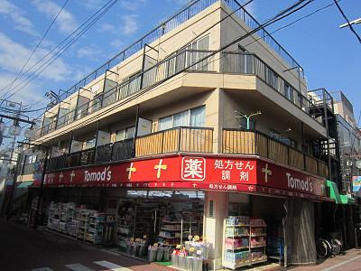 旗の台 徒歩8分 3階 2K 賃貸マンション