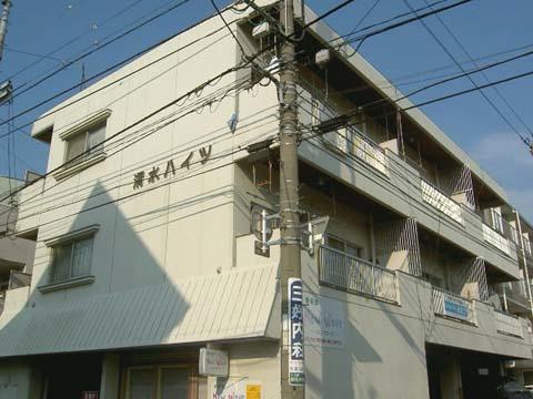 徳島 バス5分 停歩1分 2階 2DK 賃貸マンション