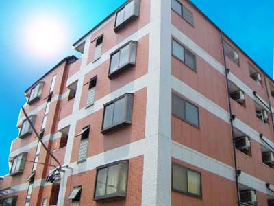 北加賀屋 徒歩8分 2階 2DK 賃貸マンション