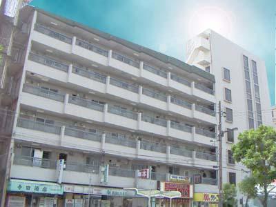 住之江公園 徒歩6分 4階 2DK 賃貸マンション