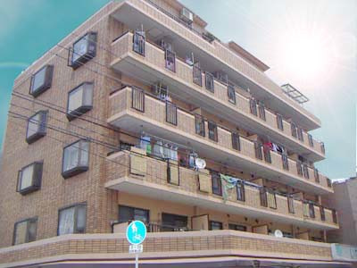 北加賀屋 徒歩7分 4階 2DK 賃貸マンション