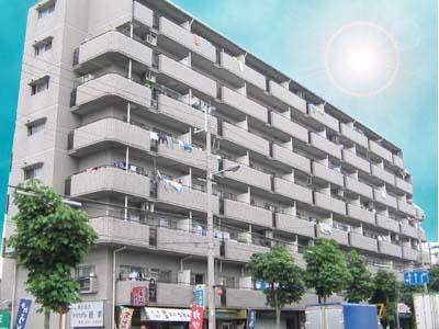住之江公園 徒歩10分 6階 3DK 賃貸マンション