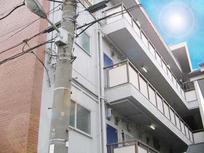 長居 徒歩7分 3階 2DK 賃貸マンション