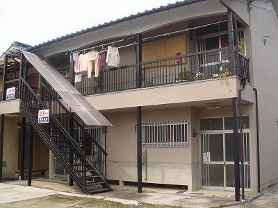 喜志 徒歩13分 2階 2DK 賃貸アパート