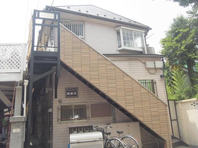 西新井 徒歩19分 2階 1K 賃貸アパート