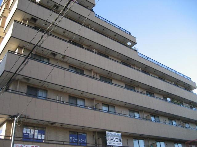 舎人公園 徒歩11分 4階 2DK 賃貸マンション
