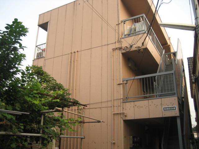 扇大橋 徒歩2分 2階 2K 賃貸マンション