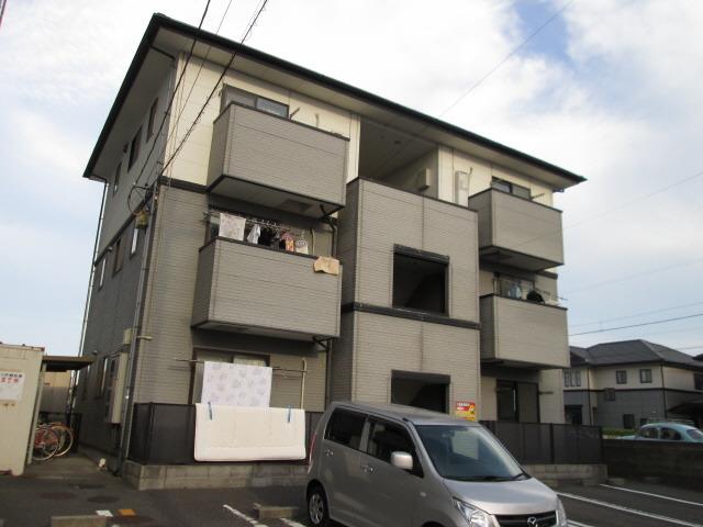 徳島 バス15分 停歩2分 2階 2DK 賃貸アパート