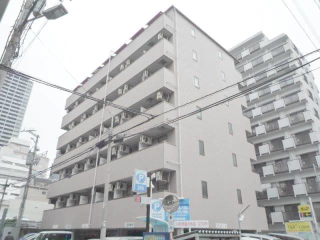 長堀橋 徒歩2分 6階 1K 賃貸マンション