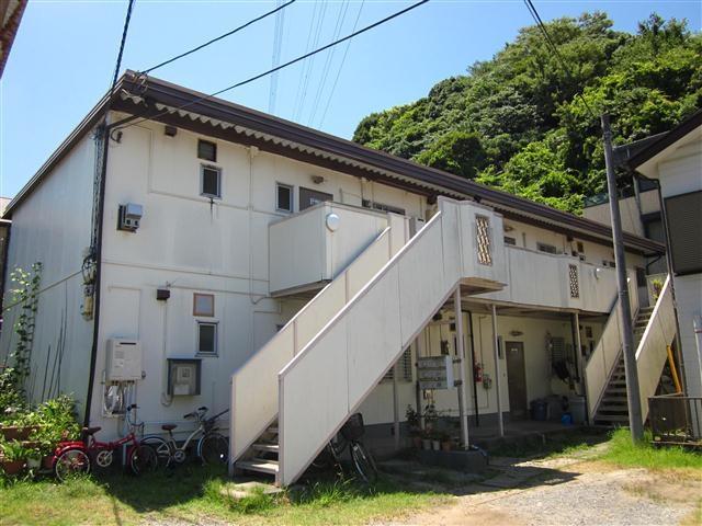 京急久里浜 バス10分 停歩2分 2階 2LDK 賃貸アパート