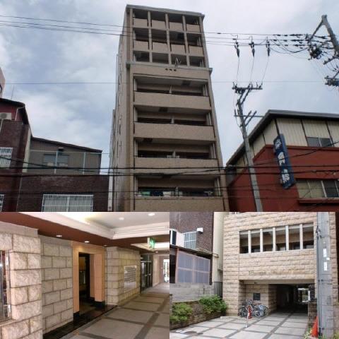 松屋町 徒歩7分 5階 1K 賃貸マンション