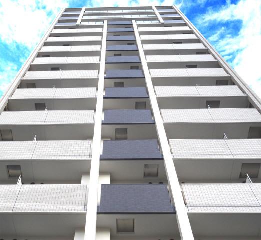 梅田 徒歩12分 13階 1K 賃貸マンション