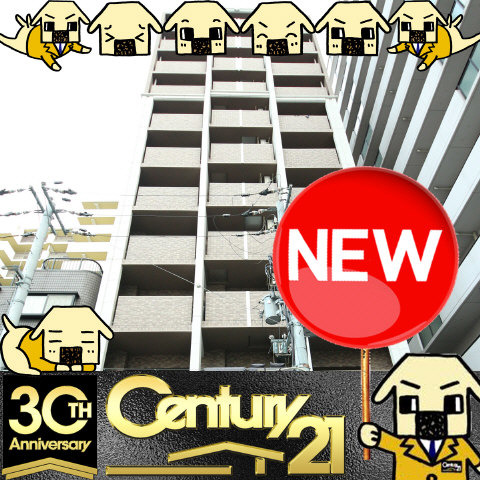谷町六丁目 徒歩7分 7階 1K 賃貸マンション