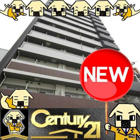 桜川 徒歩1分 12階 1K 賃貸マンション