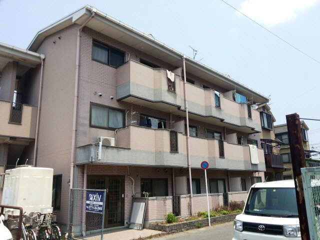 桃山御陵前 徒歩30分 1階 2DK 賃貸マンション