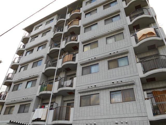 長原 徒歩11分 6階 2LDK 賃貸マンション