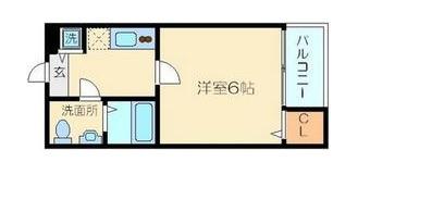 東新宿 徒歩5分 2階 1R 賃貸アパート