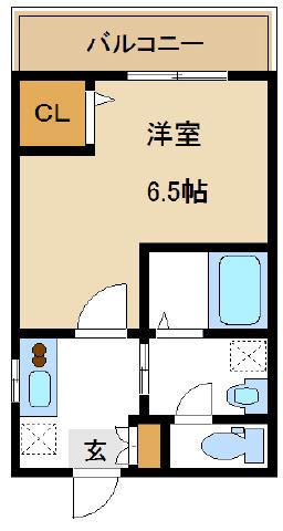 中野 徒歩9分 2階 1R 賃貸マンション
