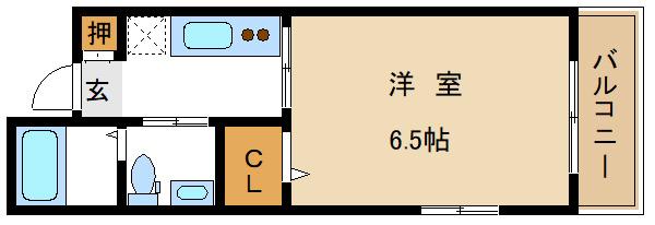 高田馬場 徒歩10分 2階 1R 賃貸マンション