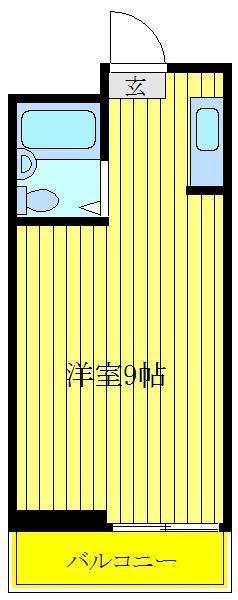 王子神谷 徒歩5分 3階 1R 賃貸マンション