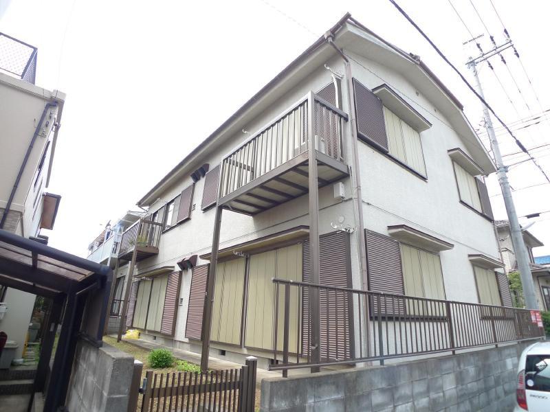 増尾 徒歩15分 2階 2DK 賃貸アパート