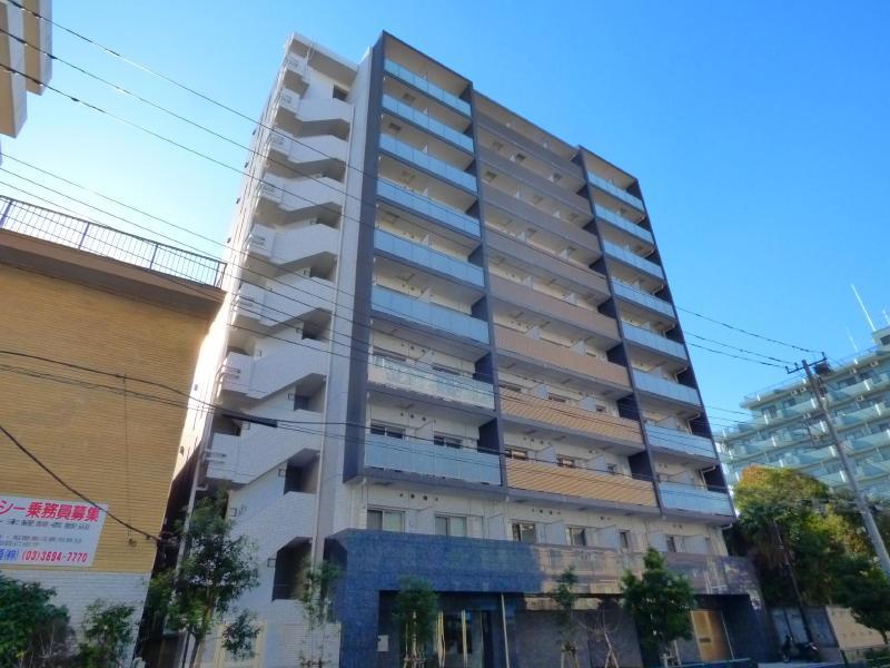 堀切菖蒲園 徒歩12分 4階 1K 賃貸マンション