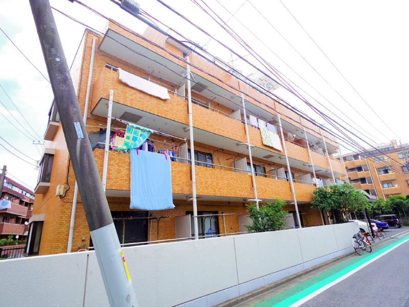 京成高砂 徒歩15分 1階 2K 賃貸マンション