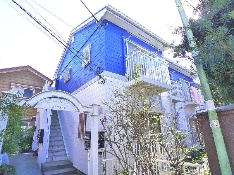 京成高砂 徒歩3分 2階 1K 賃貸コーポ