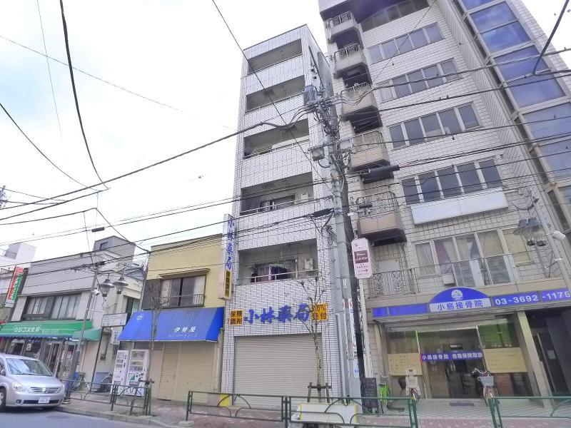 京成立石 徒歩3分 4階 1K 賃貸マンション