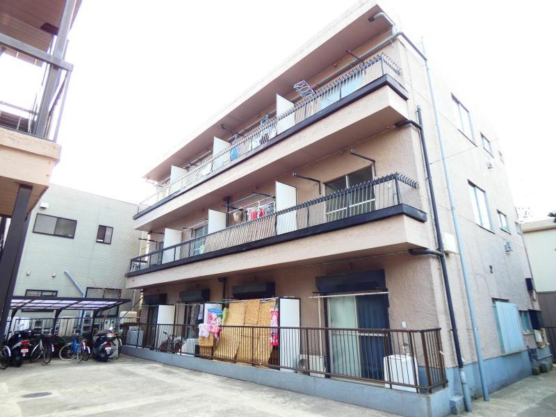 松戸新田 徒歩10分 3階 2K 賃貸マンション