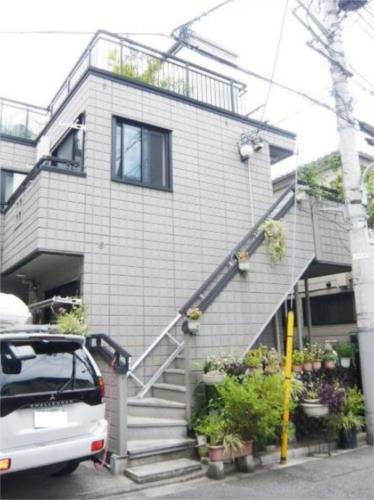 恵比寿 徒歩7分 1階 1K 賃貸アパート