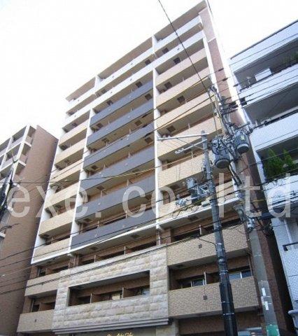 大阪上本町 徒歩7分 8階 1K 賃貸マンション