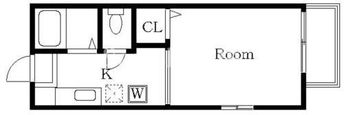 西大井 徒歩14分 1階 1K 賃貸アパート