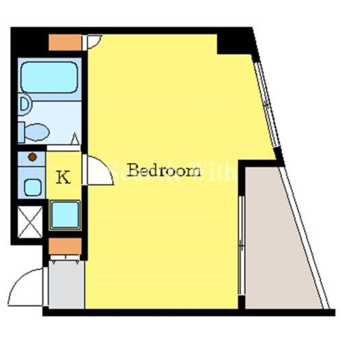 不動前 徒歩8分 2階 1K 賃貸マンション