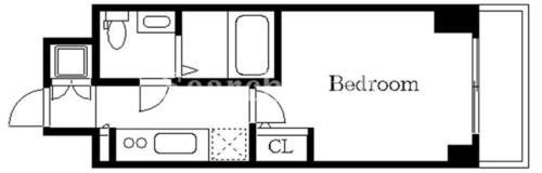 品川シーサイド 徒歩10分 9階 1K 賃貸マンション