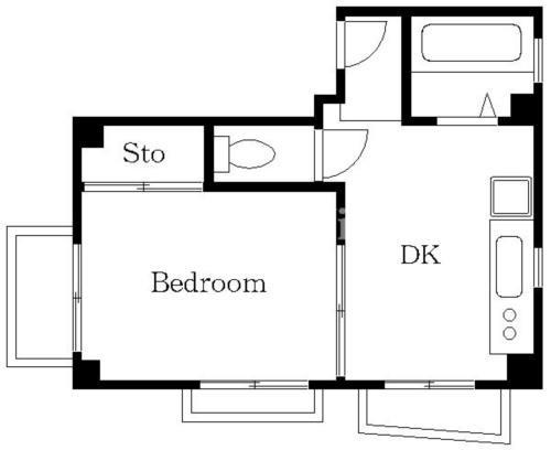 学芸大学 徒歩17分 2階 1DK 賃貸マンション