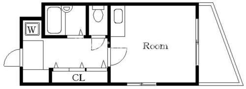 平和島 徒歩15分 3階 1R 賃貸マンション