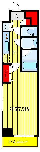 新三河島 徒歩23分 8階 1K 賃貸マンション